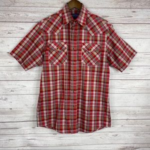Pendleton red plaid Frontier shirt